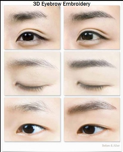 Eyebrow embroidery lebellbrow studio for 1 salon eyebrow embroidery